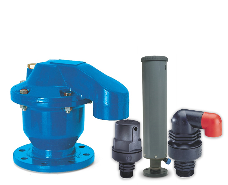 airvalves for water