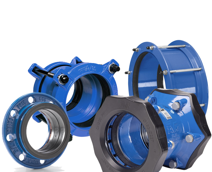 Couplings & adaptors for water
