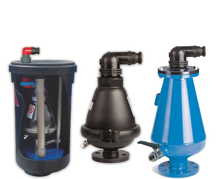 Gaisa vārsti wastewater