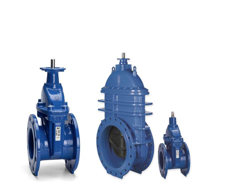 Gatevalves for wastewater