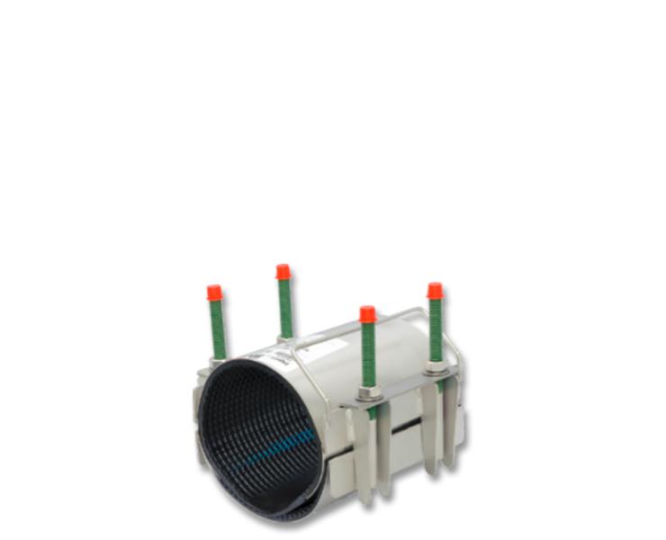 Repair clamps for water