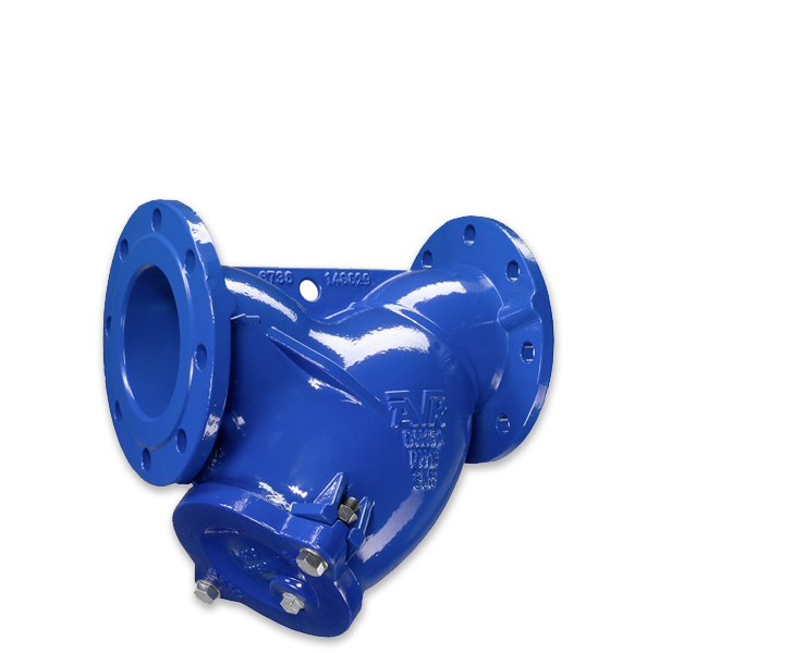Y-strainers for water